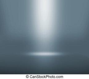 gris, projecteur, salle