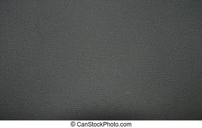 gris, tissu