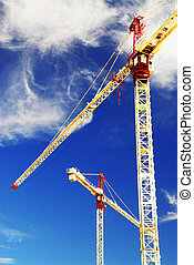 grues, construction