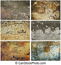 grunge, texture, collection