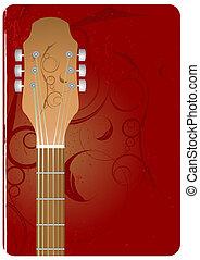 guitare, fond