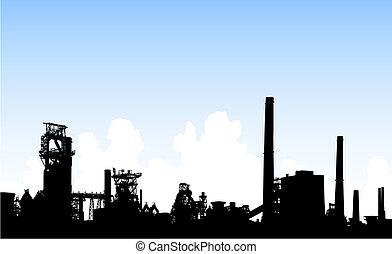 horizon, industriel