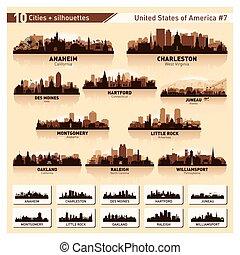 horizon ville, set., 10, silhouettes, usa, #7