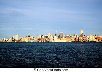 horizon ville, york, nouveau, midtown