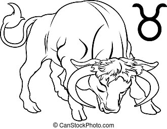 horoscope, zodiaque, signe, taureau, astrologie
