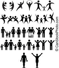 humain, symbole