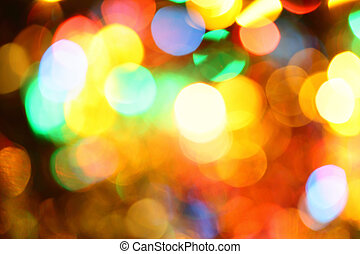 illumination, vacances, coloré