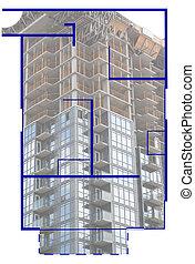 immobiliers, floorplan