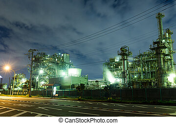 industriel, scène