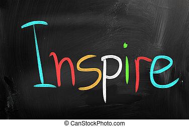 inspirer, concept
