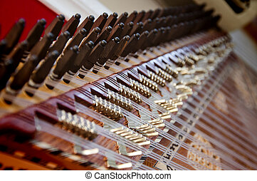 instrument, kanun, turc