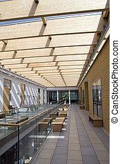 intérieur bâtiment, moderne