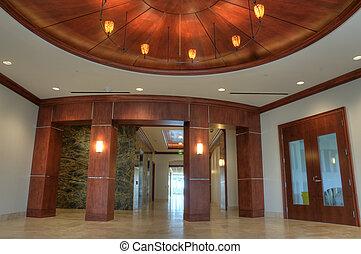 intérieur, vestibule