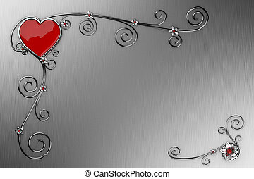 jour, carte, valentine?s