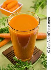 jus, carotte