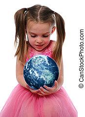 la terre, girl, tenue