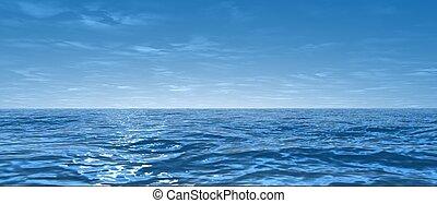 large, océan