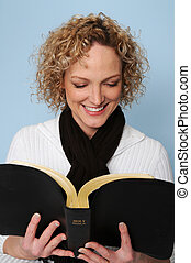 lecture femme, bible