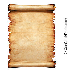 lettre, papier, vieux, parchemin, fond