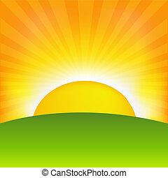 levers de soleil