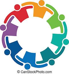 logo, image, embrasser, 8, collaboration