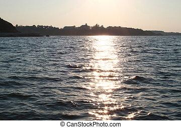 lumière, mer