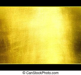 luxe, salut, texture., doré, arrière-plan., res