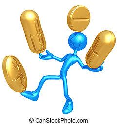 médicament, équilibrage