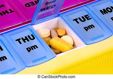 médicament, quotidiennement
