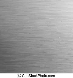 métal, eps, arrière-plan., gabarit, 8, brossé