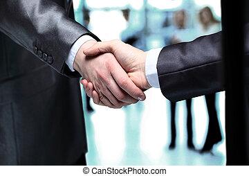 mains, affaires gens, secousse