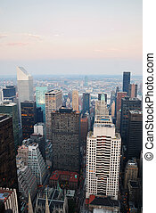 manhattan, nouveau, ville, york