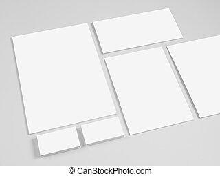 marquer, ensemble, templates., conception corporation