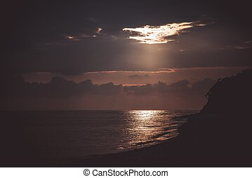 mer, paysage