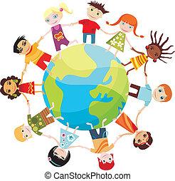 mondiale, enfants