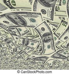 monnaie, nous, fond