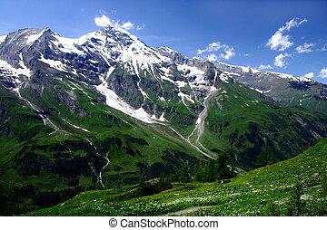 montagnes, autriche