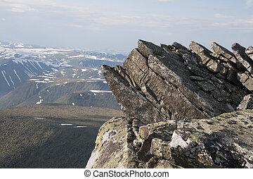 montagnes, ural