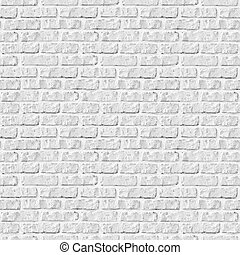 mur, arrière-plan., brique blanche, seamless