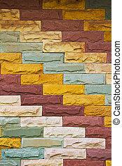 mur, brique, fond, texture