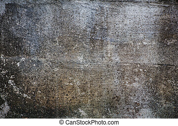 mur, grunge, gris, textured