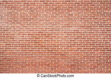 mur, nouveau, brique, texture
