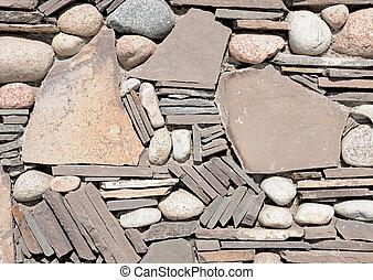 mur, photo, pierre, fond, texture
