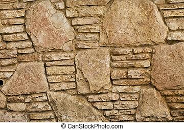 mur, pierre, fond, texture