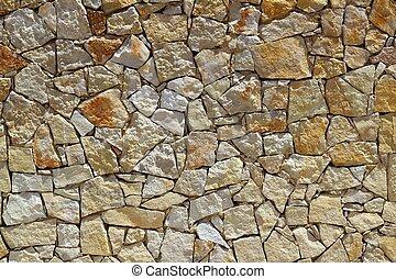 mur pierre, modèle, construction, rocher, maçonnerie
