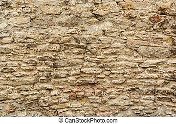 mur, pierre, vieux, texture