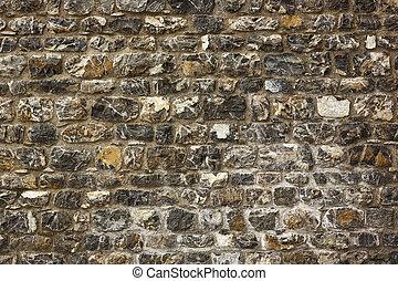 mur pierre, vieux, texture