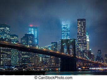 new york, nuit