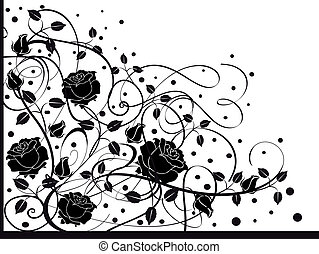 noir, 2, flourishes