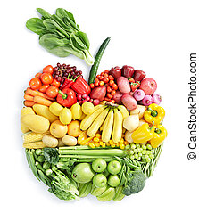 nourriture saine, apple: